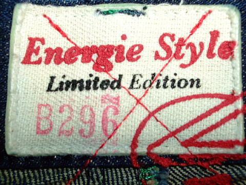 ENERGIE 限定 ENERGIE Rocco trousers STYLE 9C5R SIZE  WASH G9 ART.0504 COL.0995 6959 MADE IN ITALY 100%COTTON